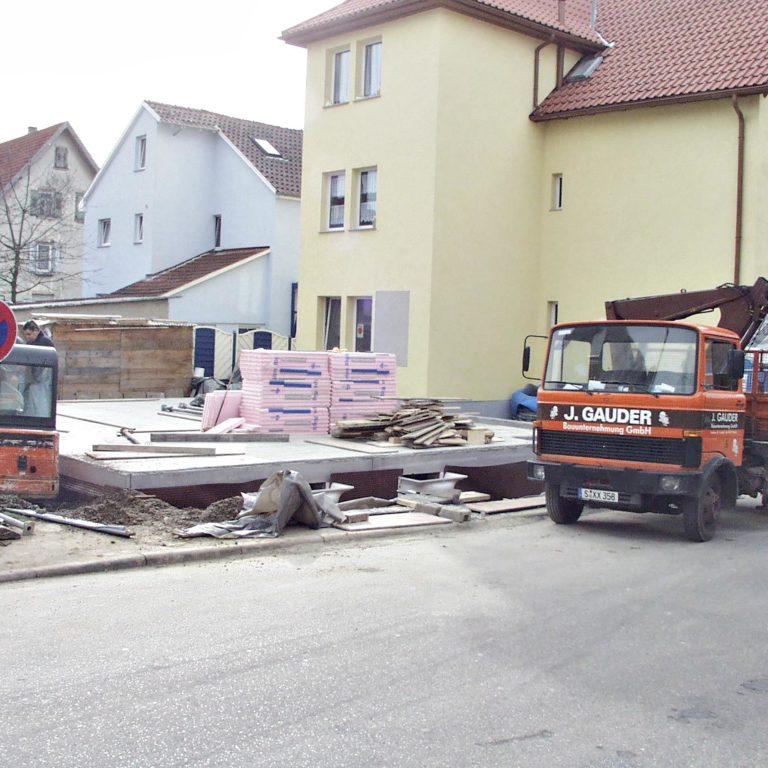 Gauder-bau-stuttgart-Hochbau Neubau Privat Einfamilienhaus Vassiliadis 01.2004-09